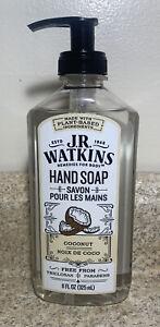 J.R. WATKINS Liquid Hand Soap Coconut 11oz