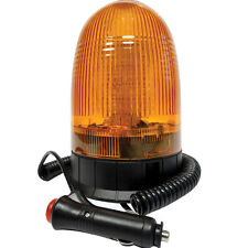 Led Dome Amber Magnetic Beacon Flasher Dual Voltage 12/24V 247 Lighting Ca6057C