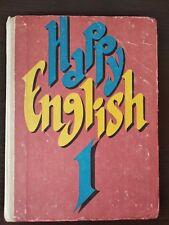 Happy English I Vintage Textbook / Счастливый английский учебник Книга 1 -1993