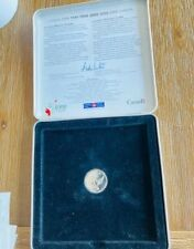 1999/2000 Canadian Millennium Keepsake 3 stamps + coin all in a Tin case