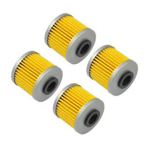 4 Engine Oil Filter for Suzuki RMZ250 RMX450Z RMZ450 FL125 Address