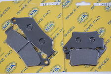 FRONT REAR BRAKE PADS fits BMW G 650, 07-15 G650 Xchallenge Xcountry