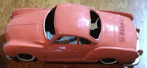 1960s Volkswagen Karmann GHIA Friction Car Mint Body Very Rare Free Shipping