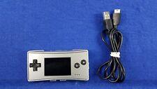 Gameboy MICRO Console SILVER *x Game Boy Nintendo PAL
