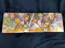 Star Wars 3 puzzles make one panorama puzzle