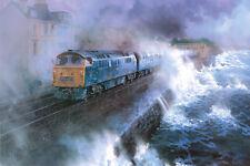 Class 52 D1013 Western Ranger John Austin Train Railway Painting Art Print