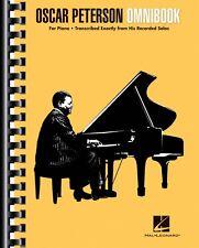 Oscar Peterson Omnibook Sheet Music Piano Transcriptions Jazz Transcri 000139880