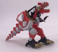 Vintage 2003 Bandai Power Rangers Dino Thunder T-Rex Red Ranger Figure Toy Rare
