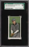 Rare 1909-11 T206 John Anderson Sovereign 350 Providence SGC 60 / 5 EX
