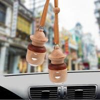 Exquisite Air Freshener Car Hanging Perfume Glass Bottle Mirror Ornament Pendant