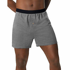 Hanes MKCBX5 Mens Tagless ComfortSoft Knit Boxers Size Extra Large Assorted