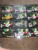 Minichamps Ayrton Senna Formula One Cars 12 Car Lot 1/43 Scale Full List