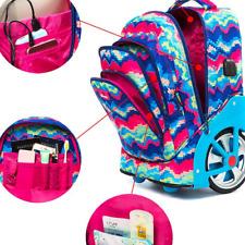 Schultrolley Trolley Rucksack Schulrucksack Schulranzen Exklusiv USB Mädchen