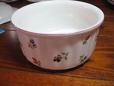 "Villeroy & Boch Petite Fleur Souffle Bowl  6""  MANY more this pattern"