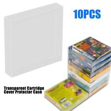10pcs Transparent Cartridge Cover Protector for Nintendo Game Boy GBA Boxed Game
