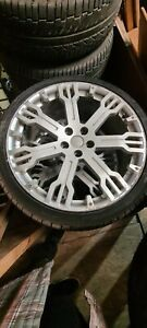 Land rover Discovery wheels and tyres x4 in good used condition