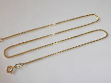 Oro 333 Cadena de 8K Amarillo Cuello 40cm Veneciana 518