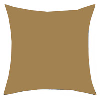 Pillow Case European 65x65cm Euro Pillowcase 250GSM Poly/Cotton Various Colours
