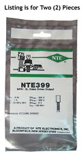 NTE399 NPN Transistor: High Voltage Video Amplifier: 2/Lot