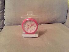 Acctim Pink Fairy Bold Sweeping Seconds Quartz Alarm Clock