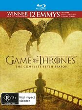 Game Of Thrones : SEASON 5 : NEW Blu-Ray