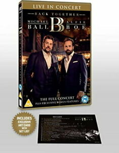 Michael Ball & Alfie Boe: Back Together - Live in Concert [DVD] [2020] [New DVD]