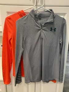 Boys Under Armour Heatgear Shirts Size Youth Medium