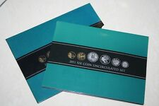 (PL) 2011 AUSTRALIA Uncirculated 6 Coin Mint Set ROYAL AUSTRALIAN MINT RAM