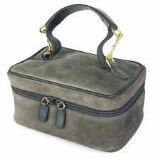 Auth GUCCI Horse Bit Leather Vanity Mini Hand Bag Italy F/S 11811bkac