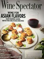 Wine Spectator Magazine May 31 2018 Asian Flavors Pairing Guide Nantucket Alsace