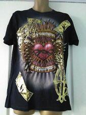 Shiroi Neko T shirt  Minute Mirth Tattoo Punk Goth Emo BNWT Size Medium