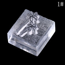 Acrylic Natural Word Handmade Clear Soap Stamping Stamp Seal Mold Craft DIY 3C