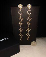 Chanel Long Dangle Earrings