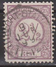 NVPH Netherlands Nederland nr 33 TOP CANCEL UTRECHT-STATION Cijfer 1876