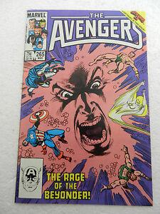 Avengers #265 Secret Wars II VF 8.0 Captain America 1986 Marvel Comics