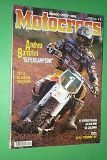 MOTOCROSS 11 NOVEMBRE 1996 BETA TECHNO MIKE LAROCCO SEBASTIAN TORTELLI SALONE DI