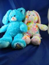 """BUILD-A-BEAR 2 plush 17""""  Perfectly Pink Pretty Petals & Shake it up Bunny BBAW"""