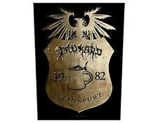 TANKARD crest frankfurt GIANT BACK PATCH - 36 x 29