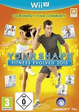 Nintendo Wii U Your Shape Fitness Evolved 2013 NUOVO & OVP