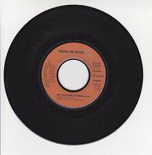 Maria DE ROSSI Vinyl 45T UNE PIECE DANS LE JUKEBOX -..A CHERBOURG -RCA 8285 RARE