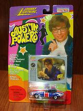 Johnny Lightning 1/64 Die Cast : Austin Powers Shaguar Bonus ShowCard