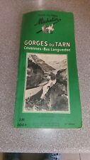 GUIDE MICHELIN 1959, gorges du tarn