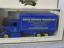 Lledo Promotional SP44001, Scammell 6 wheel Truck, David Sumner Transport, Alton