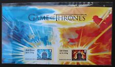 GAME OF THRONES™ PRESS PACK ROYAL MAIL STAMPS POST AND GO FIRE AND ICE SET