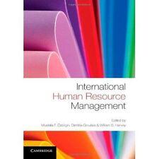 International Human Resource Management by Mustafa Ozbilgin 9781107669543