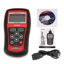 Car Diagnostic Computer KW808 EOBD OBD2 OBDII Car Scanner MS509