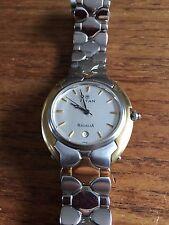 Mens TITAN Classic Silver Designer Two Tone Watch  WC84