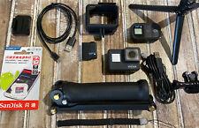GoPro HERO7 Black Camera HD 4K CHDHX-701 Hero 7+64GB+ GoPro Remote + 3-Way Arm