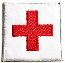 THE RED CROSS CLOTH BADGE sew on iron on armband patch Medical aid Applique sign