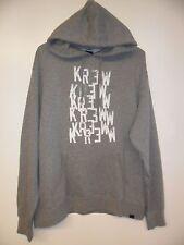 "Krew Men's Pullover Hooded Sweatshirt ""Cut N Paste"" GHT - Large - NWT"